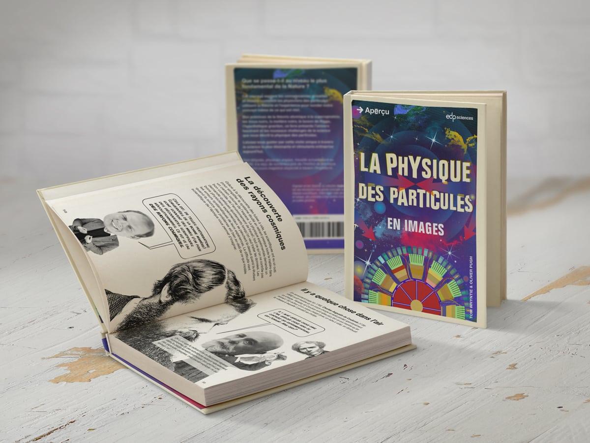 Mise en page de livre : collection Aperçu - la physique des particules