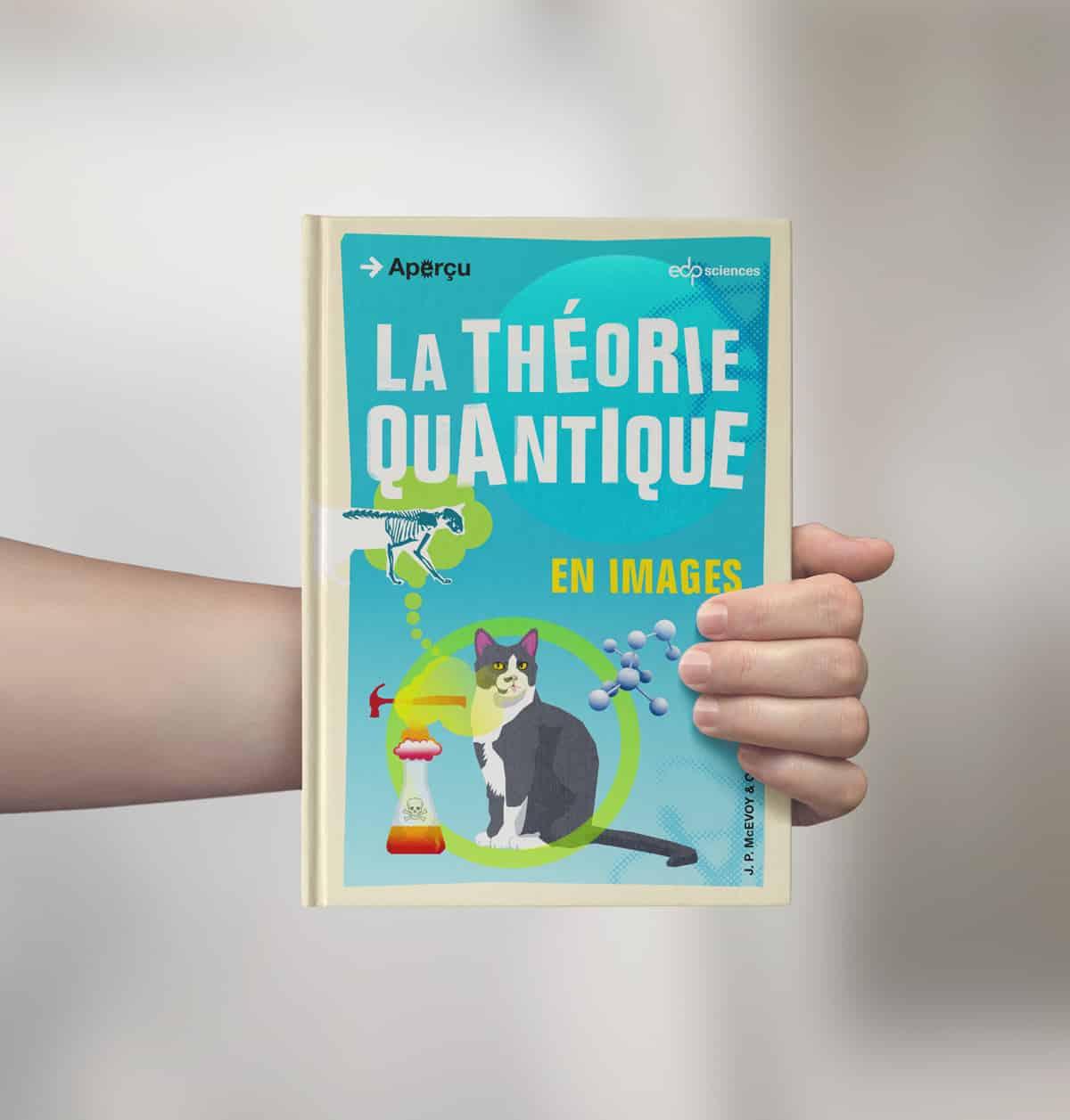 Mise en page de livre : collection Aperçu - la théorie quantique
