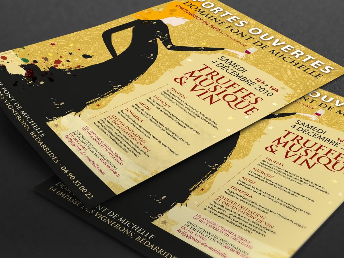 Font de Michelle portes ouvertes 2010 flyer