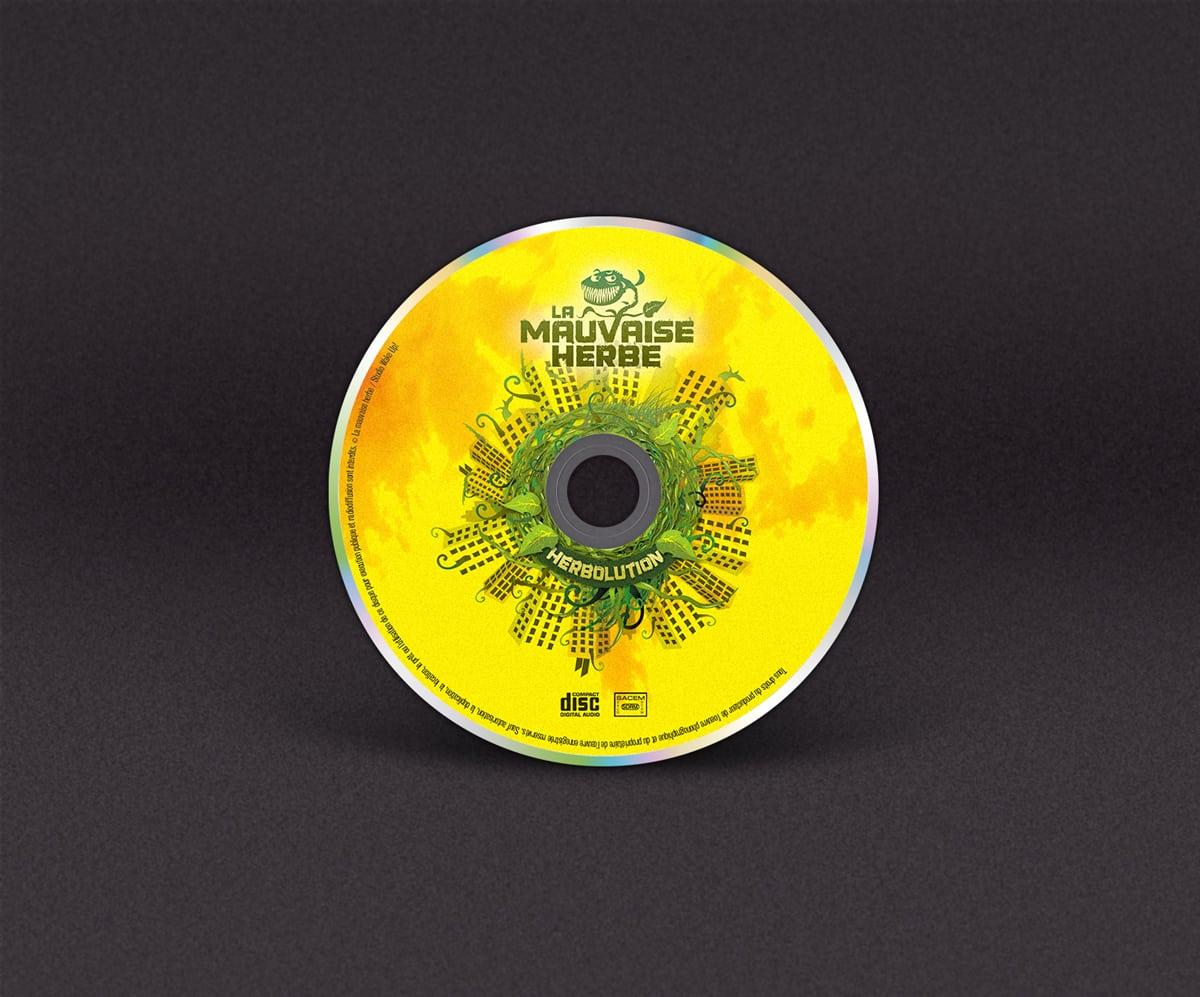 Création d'un CD - la mauvaise herbe